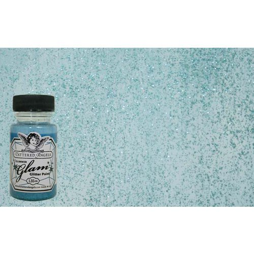 Tattered Angles - Glimmer Glam - Ocean Spray