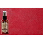 Tattered Angels - Christmas - Glimmer Mist Spray - 2 Ounce Bottle - L.E.D. Red