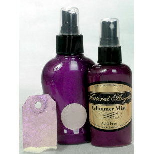Tattered Angels - Glimmer Mist Spray - 2 Ounce Bottle - Lavender Fields