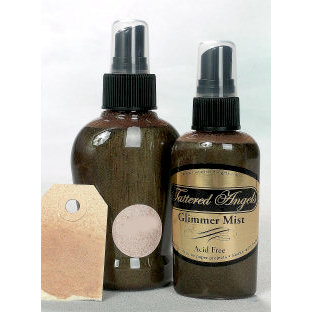 Tattered Angels - Glimmer Mist Spray - 2 Ounce Bottle - Latte