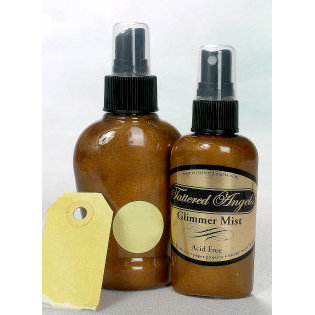 Tattered Angels - Glimmer Mist Spray - 2 Ounce Bottle - Sunflower