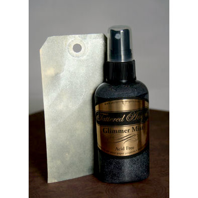 Tattered Angels - Glimmer Mist Spray - 2 Ounce Bottle - Silver
