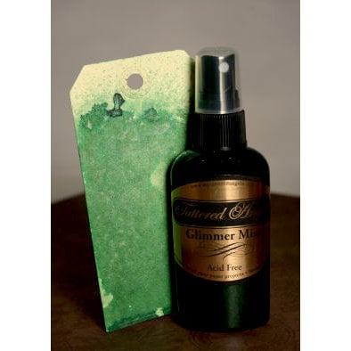 Tattered Angels - Glimmer Mist Spray - 2 Ounce Bottle - Forest Green