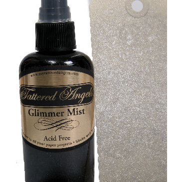 Tattered Angels - Glimmer Mist Spray - 2 Ounce Bottle - Black Gold
