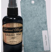 Tattered Angels - Glimmer Mist Spray - 2 Ounce Bottle - Winter and Christmas Limited Editions -  Frosty Nights