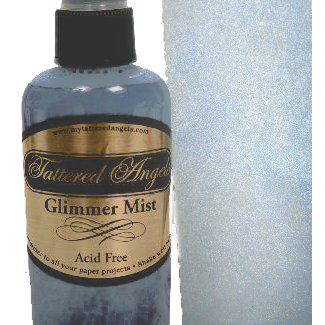 Tattered Angels - Glimmer Mist Spray - 2 Ounce Bottle - Frost