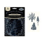 Tattered Angels - Glimmer Screen - Misting Tools - Winter Trees