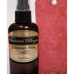Tattered Angels - Glimmer Mist Spray - 2 Ounce Bottle - Limited Edition Spring Color - Passion Red