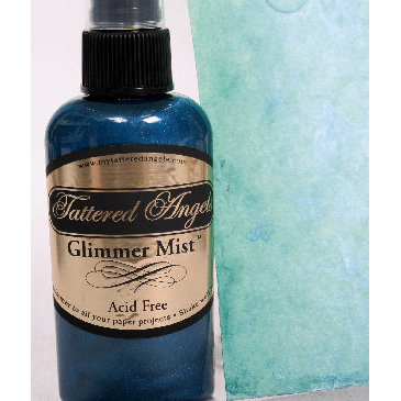 Tattered Angels - Glimmer Mist Spray - 2 Ounce Bottle - Limited Edition Spring Color - Robin's Egg