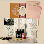 Tattered Angels - Regal Collection - Glimmer Glass Window Album Kit