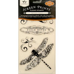 Tattered Angels - Nature Collection - Screen Prints - Clear Acrylic Stamps - Field Notes
