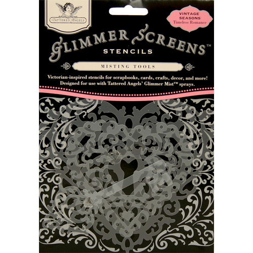 Tattered Angels - Timeless Romance Collection - Glimmer Screen - Misting Tools - Timeless Romance