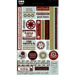 Three Bugs in a Rug - Chit Chat Stickers - The Back Porch Collection, CLEARANCE