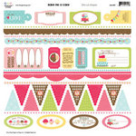 Three Bugs In a Rug - Bake Me a Cake Collection - Die Cut Shapes