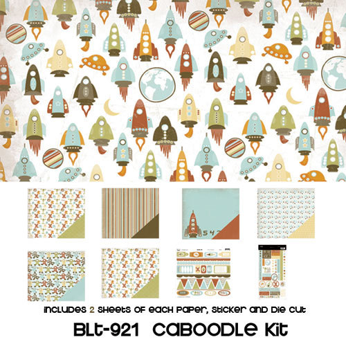 Three Bugs In a Rug - Blast Off Collection - Caboodle Kit