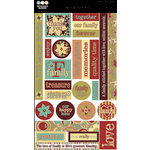 Three Bugs in a Rug - Chit Chat Stickers - The Cotton Shop Collection, CLEARANCE