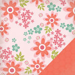 Three Bugs In a Rug - Ellie Collection - 12 x 12 Double Sided Paper - Petals