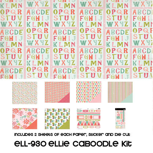 Three Bugs In a Rug - Ellie Collection - Caboodle Kit