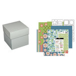 Three Bugs in a Rug - Memory Box Kit - Luke and Lola, CLEARANCE