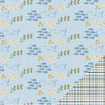 Three Bugs In a Rug - Under the Sea Collection - 12 x 12 Double Sided Paper - Sea Creatures