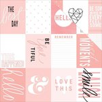 Teresa Collins - Project Pink Collection - 12 x 12 Double Sided Paper - Cards