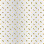 Teresa Collins - Signature Essentials Collection - 12 x 12 Clear Paper - Gold Dots