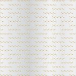 Teresa Collins - Signature Essentials Collection - 12 x 12 Clear Paper - Gold Arrows