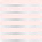 Teresa Collins - Signature Essentials Collection - 12 x 12 Clear Paper - Blush Cabana