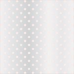 Teresa Collins - Signature Essentials Collection - 12 x 12 Clear Paper - Blush Dots