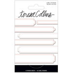 Teresa Collins - Signature Essentials Collection - Matchbook Stickers - Labels - Blush
