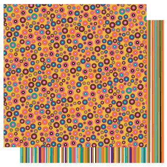 TaDa Creative Studios - Sizzlin' Summer Collection - 12 x 12 Double Sided Paper - Sun Kissed
