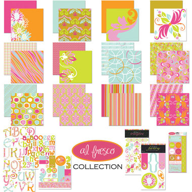 Tinkering Ink - Al Fresco Collection - 12x12 Kit