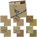 Tinkering Ink - Becoming Green - 12 x 12 Double Sided Paper Pack - Recycled