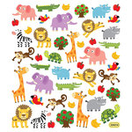 Sticker King - Clear Stickers - Zoo Fun
