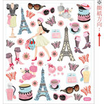 Sticker King - Clear Stickers - Bonjour!