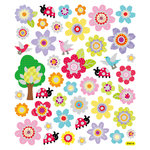 Sticker King - Cardstock Stickers with Foil Accents - Spring Colors