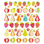Sticker King - Cardstock Stickers - Patterned Fruit