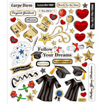 Sticker King - Cardstock Stickers - Graduation