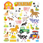 Sticker King - Clear Stickers - Farm
