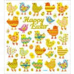 Sticker King - Clear Stickers - Happy Easter Chicks