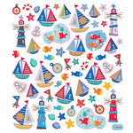 Sticker King - Clear Stickers - Nautical Time