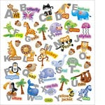 Sticker King - Clear Stickers - Alpha Words