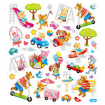 Sticker King - Clear Stickers - Animals at Play