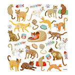 Sticker King - Cardstock Stickers - Cats Meow