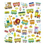 Sticker King - Cardstock Stickers - Animal Train