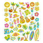 Sticker King - Cardstock Stickers with Glitter Accents - Surfs Up