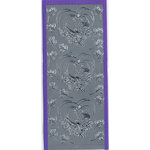 Sticker King - Cardstock Stickers - Love Birds and Roses in Silver