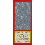 Sticker King - Cardstock Stickers - Angels and Christmas Elements in Silver