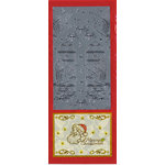 Sticker King - Cardstock Stickers - Christmas Peace Birds in Silver