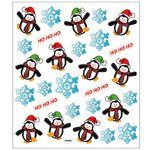 Sticker King - Cardstock Stickers - Christmas - Holiday Penguins